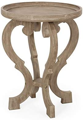 Christopher Knight Home 313192 Eleanor French Country Accent Table
