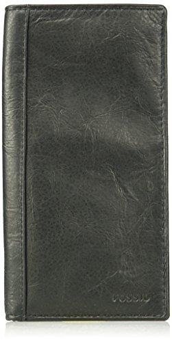 Fossil Men's Execufold Wallet, Neel-Black, One Size