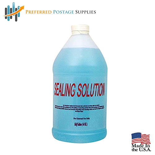 Preferred Postage Supplies PPS64 Sealing Solution, 0.5 gallon (64 oz)
