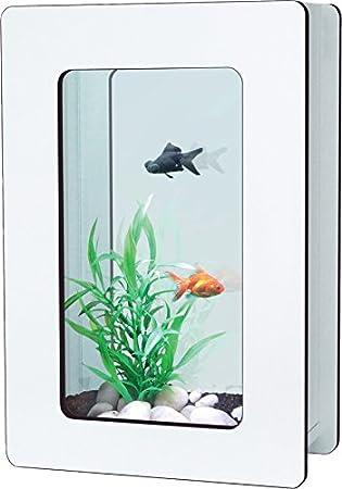 aquatlantis Nano Fashion Vision H Acuario sin iluminación, color blanco: Amazon.es: Productos para mascotas