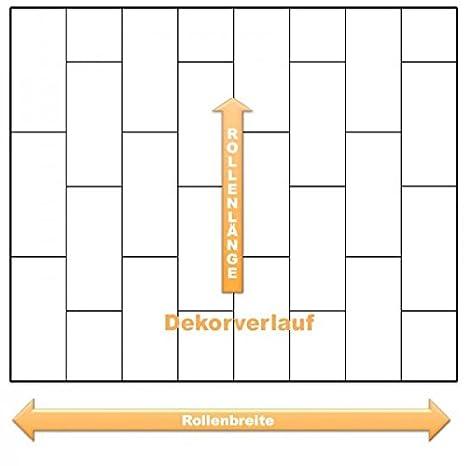 livingfloor/® PVC Bodenbelag Fliese Anthrazit 2m Breite Gr/ö/ße:12.00x2.00 m L/änge variabel Meterware