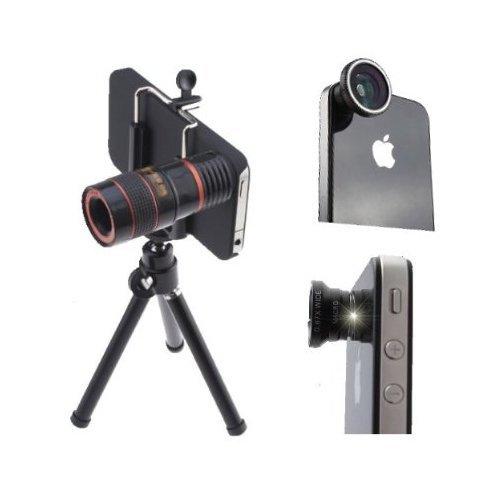 AGPtek®  4 in 1 Camera Lens Kit