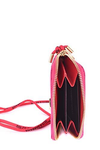 Mujer Gabbana Billetera Fucsia MCBI099400O Cuero amp; Dolce 6fOxUU