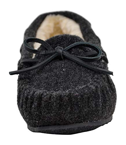 Minnetonka Women's Cally Faux Fur Slipper