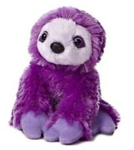 8&Quot; Purple Two Toed Sloth Plush Stuffed Animal :New By Ww Shop -