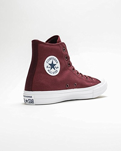 in and Bordeaux Casual Taylor Top Unisex High Star Sneakers Chuck Durable Uppers Classic Canvas Deep and Converse All Style Color xHCzq6wx