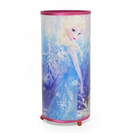 Disney Frozen Elsa & Anna Cylinder Glitter Lamp Night Light