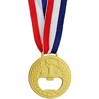 Gold Medal Bottle Opener Olympic Metal Bottle Opener Wine Beer Accessories