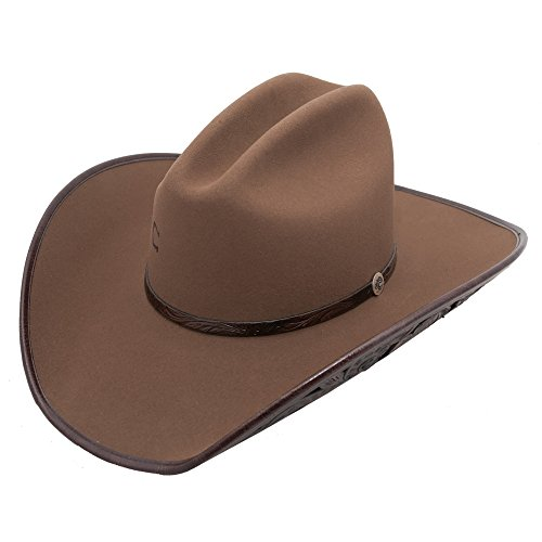 Charlie 1 Horse Ladies' Cut Above 4X Felt Cowboy Hat (7 5/8) by Charlie 1 Horse