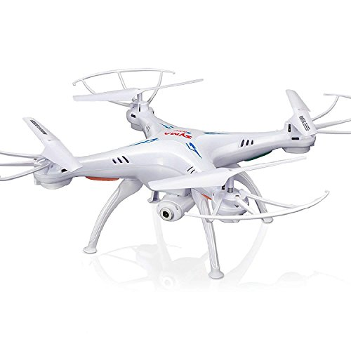 Cheerwing Syma X5SW-V3 WiFi FPV Drone 2.4Ghz 4CH 6-Axis Gyro RC Quadcopter Drone with Camera, White