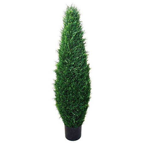 41-inch Indoor/ Outdoor Romano Cypress Tree UV Resistant by Generic
