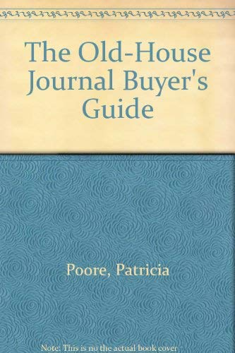 The Old-House Journal Buyer's Guide
