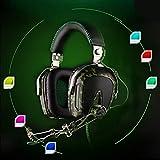 Lljin SADES A90 Wired Gaming USB Headphones Microphone 7.1 Channel Earphone Headset