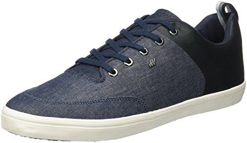 Hommes Boxfresh Castel Sneaker, Bleu (marine)