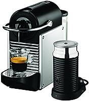 Nespresso (Delonghi) Pixie with Aeroccino - EN 125SAE - Silver