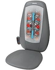 HoMedics SensaTouch Double Shiatsu Rug Massageapparaat – Massagestoel, Tegen Stijfheid, Verzachtende Warmte, Volledige Ontspanning, Boven, Onderrug Spieren, 3 massageprogramma's, Afstandsbediening