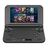 wwffoo Handheld Hexa-core 5 Inch 4 GB/32 GB Game Unit Console Video Game Player Gamepad US with Two Joysticks Portable for Kids Adults 5 .0'' Large Screen Supported Much Languages (Black)