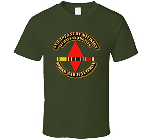 2XLARGE - SSI - 5th Infantry Division - Europe - WWII - Military Green ()
