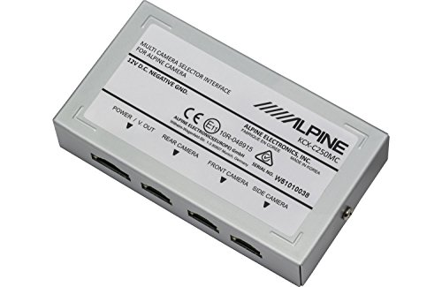 Alpine KCX-C250MC Multi Camera Selector Interface