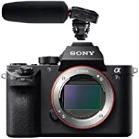 Sony Alpha a7S II Mirrorless Digital Camera, 4K Internal Recording, - Bundle with Tascam DR-10SG Camera-Mountable Audio Recorder with Shotgun Microphone
