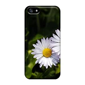 Iphone 5/5s Cases Slim [ultra Fit] Pleasant Daisies Protective Cases Covers