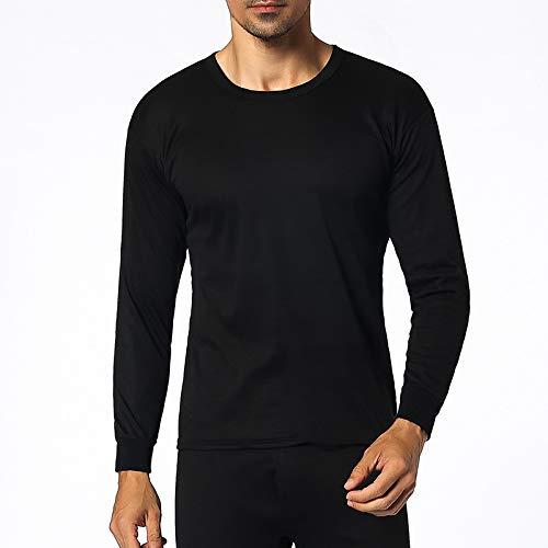 ViCherub Men's Thermal Underwear Set Fleece Lined Long Johns Winter Base Layer Top & Bottom 1 or 2 Sets for Men by ViCherub