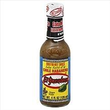 El Yucateco Hot Sauce, XXXtra, Chile Habanero 4 oz (Pack of 12)