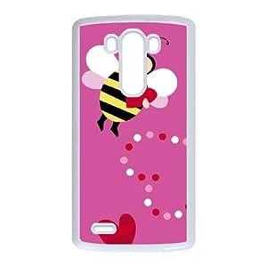Honeybee LG G3 Cell Phone Case White Delicate gift AVS_668655