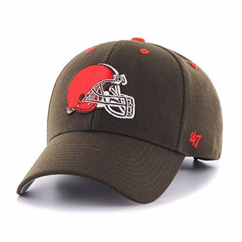 NFL Clevelands '47 MVP Adjustable Hat, One Size, (Cleveland Browns Cap)