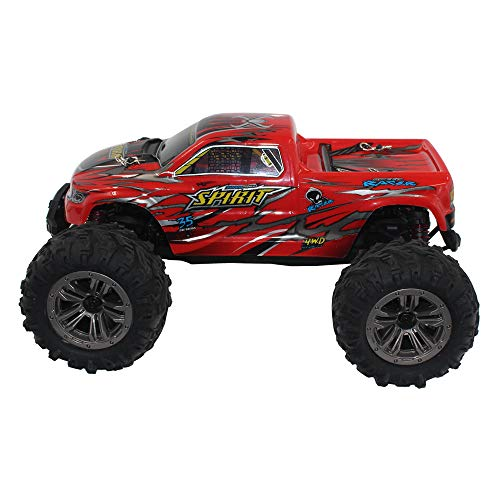 Choosebuy 1:16 Off-Road Remote Control Racing Car with 2.4GHz Technology, 4WD High Speed RC Tracked Cars Buggy Toys for Indoors/Outdoors, Best Christmas Birthday Gift for Children and Adults (Red) by Choosebuy (Image #2)