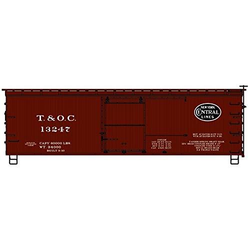 Accurail 1806-36' Double Sheath Boxcar, Toledo and Ohio Central - HO Scale Kit ()