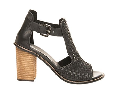 MTNG 94453 Women US 9.5 Black Heels