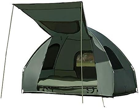 Goplus - Tienda de campaña impermeable con 2 plazas, cama de ...