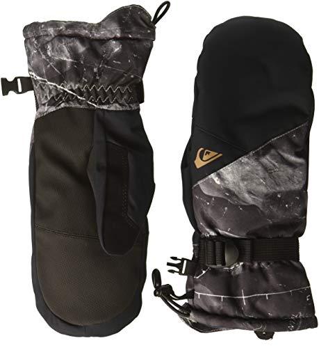 Quiksilver Men's Mission MITT Snow Gloves, Black TANNENBAUM, XL