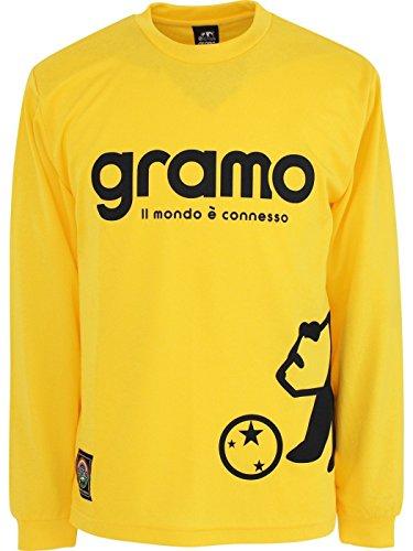 展望台義務付けられた梨gramo(グラモ) WORKS ロングプラクティスシャツ LP-003