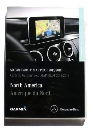2015 2016 2017 Mercedes GLC C C300 C350 Sedan E250 E350 E400 E550 E63 E-Class Garmin SD Map Pilot Ver.5.2/ Map 5.0 A2139062704