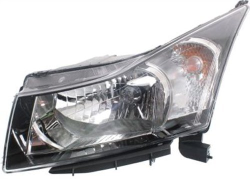 Crash Parts Plus Left Driver Side Headlight Head Lamp for 2011-2015 Chevrolet Cruze