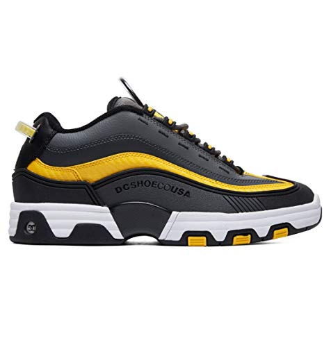 black Shoes Dc Uomo Grey Sneaker yellow SadqdI6