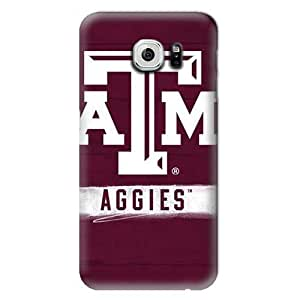 S6 Case, Schools - Texas A&M Aggies - Samsung Galaxy S6 Case - High Quality PC Case