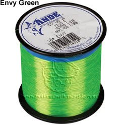 Ande A1-40GE Premium Monofilament, 1-Pound Spool, 40-Pound Test, Bright Green Finish Review