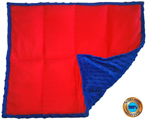 Weighted Sensory Lap Pads - from 3 to 12 lbs & More than 10 Designs (5 lbs, The Super Hero)