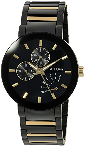 Bulova-Mens-Quartz-Stainless-Steel-Casual-WatchMulti-Color-Model-98C124