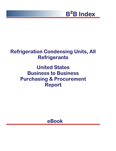 Refrigeration Condensing Units, All Refrigerants B2B United States: B2B Purchasing + Procurement Values in the United States