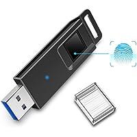 K&ZZ Fingerprint Encrypted USB 3.0 Flash Drive 128GB High...
