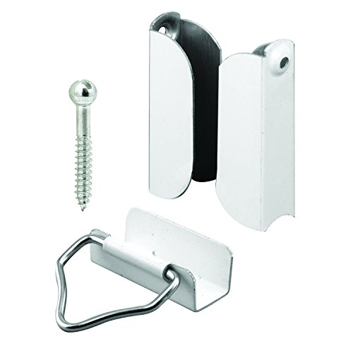 Prime-Line Products PL 7847 Hangers and Latches, 7/16-Inch, White,(Pack of 2) ()
