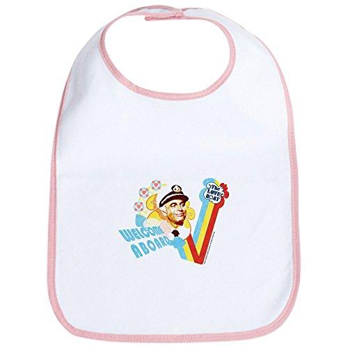 CafePress - Welcome Aboard Bib - Cute Cloth Baby Bib, Toddler Bib (Bib Aboard)