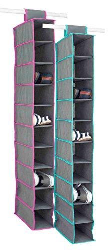 - Home Basics Closet Organizer 10 Shelf QUIL