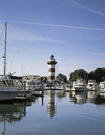 Photo Harbor Town Light, Hilton Head, South Carolina