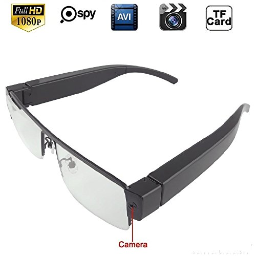 Eyewear Full Glasses Security Recorder Camcorder