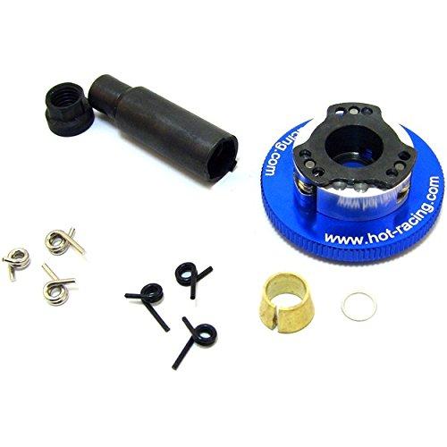Hot Racing TRX100AC306 E-Z Adjust Aluminum 3-Shoe Flywheel Kit Traxxas ()